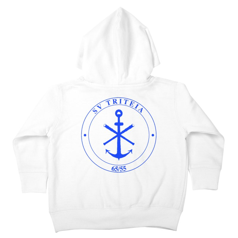 Sailing Vessel Triteia - AWBS logo Kids Toddler Zip-Up Hoody by Sailor James