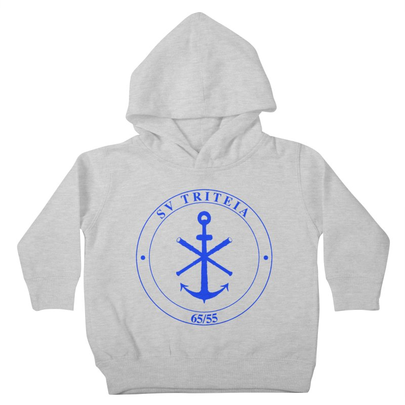 Sailing Vessel Triteia - AWBS logo Kids Toddler Pullover Hoody by Sailor James