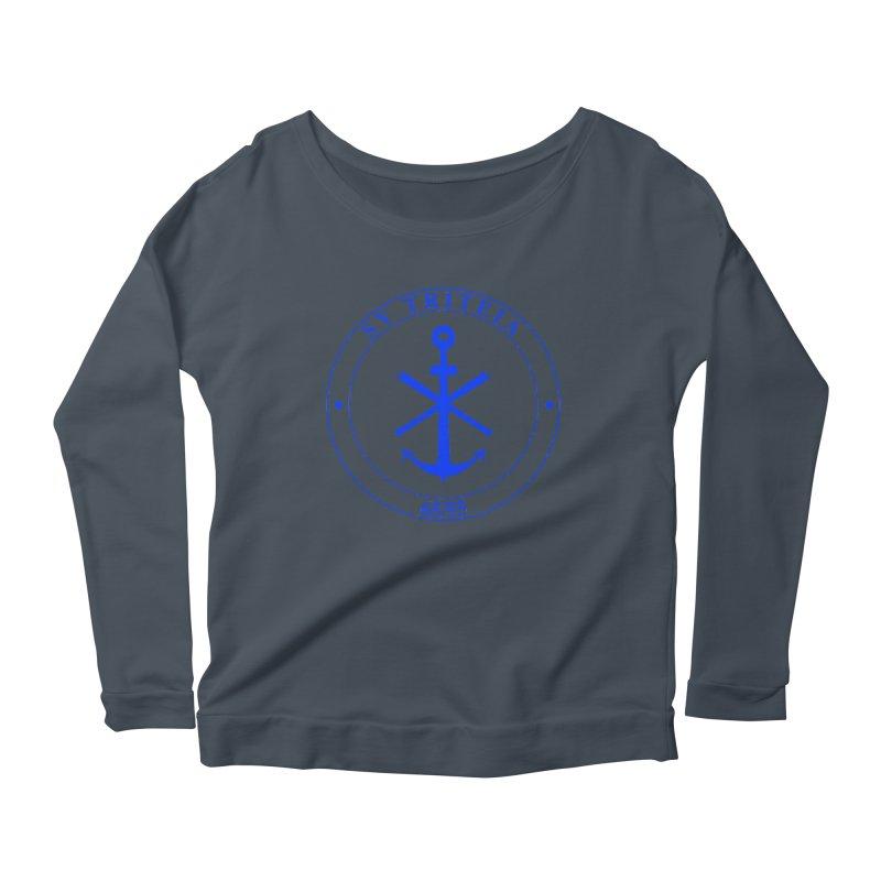 Sailing Vessel Triteia - AWBS logo Women's Scoop Neck Longsleeve T-Shirt by Sailor James