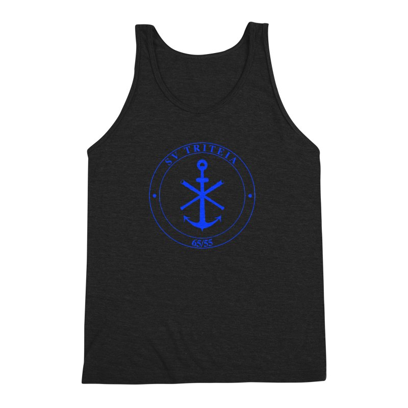 Sailing Vessel Triteia - AWBS logo Men's Tank by Sailor James