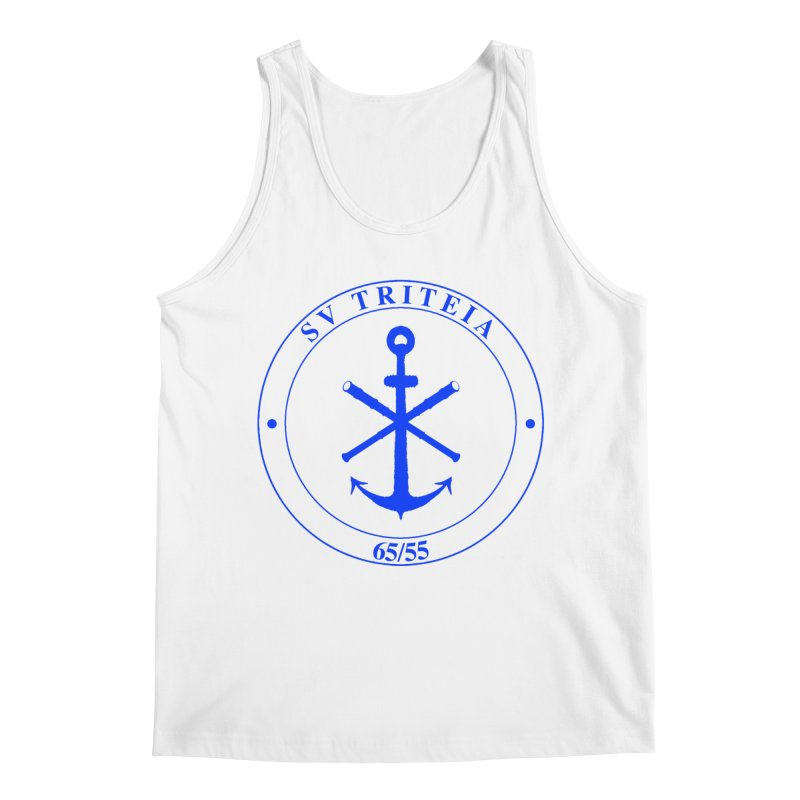 Sailing Vessel Triteia - AWBS logo Men's Tank by Sailor James