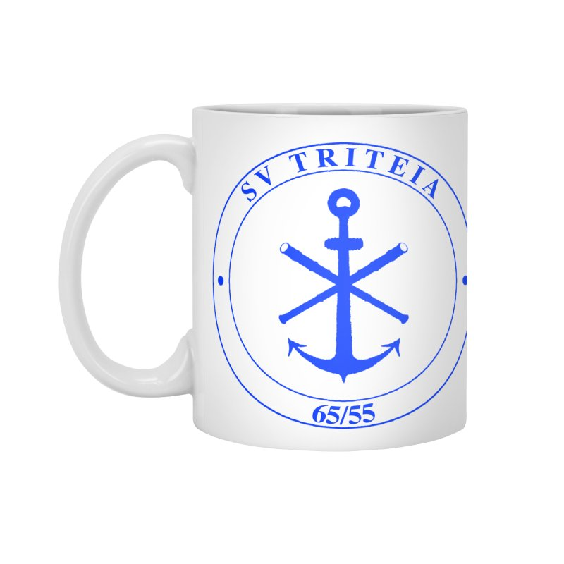 Sailing Vessel Triteia - AWBS logo Accessories Standard Mug by Sailor James