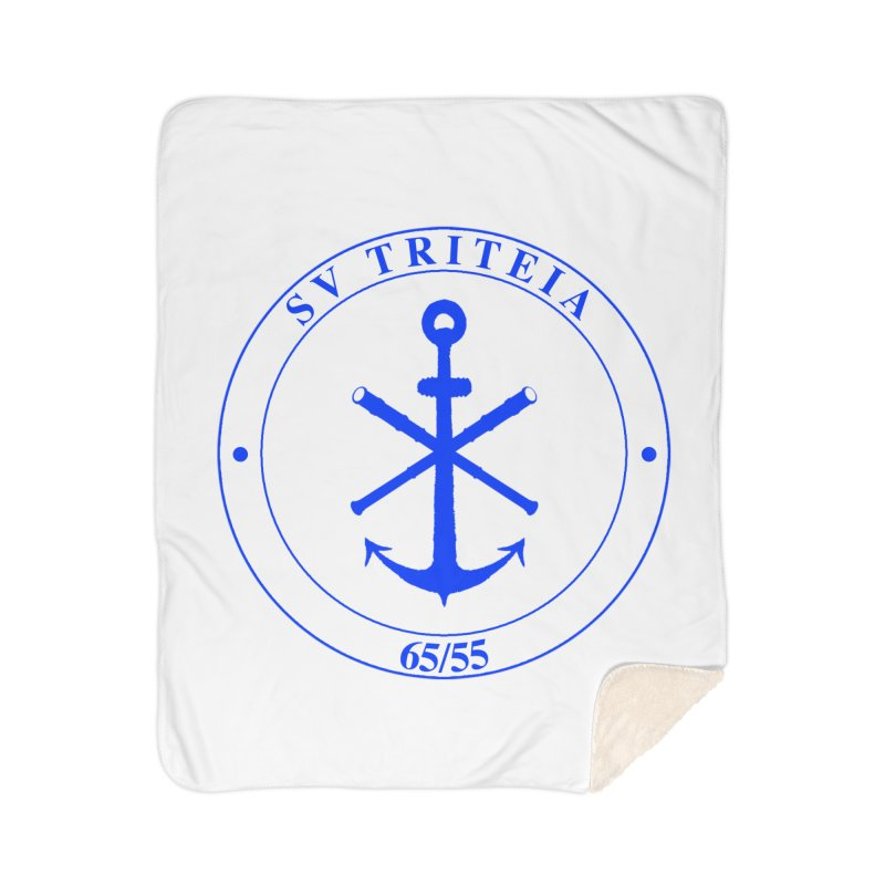 Sailing Vessel Triteia - AWBS logo Home Sherpa Blanket Blanket by Sailor James