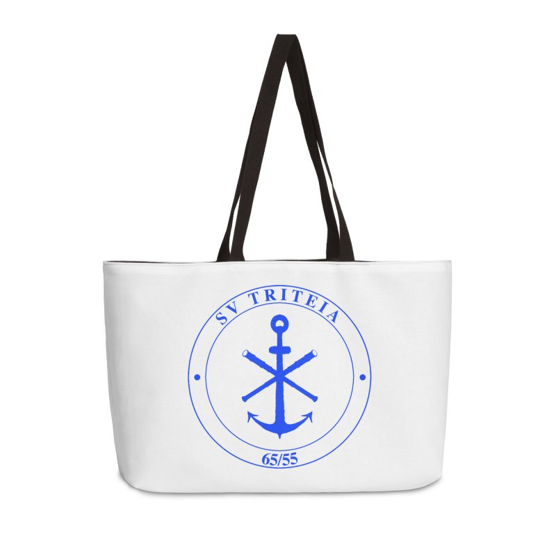 Sailing Vessel Triteia - AWBS logo Accessories Weekender Bag Bag by Sailor James
