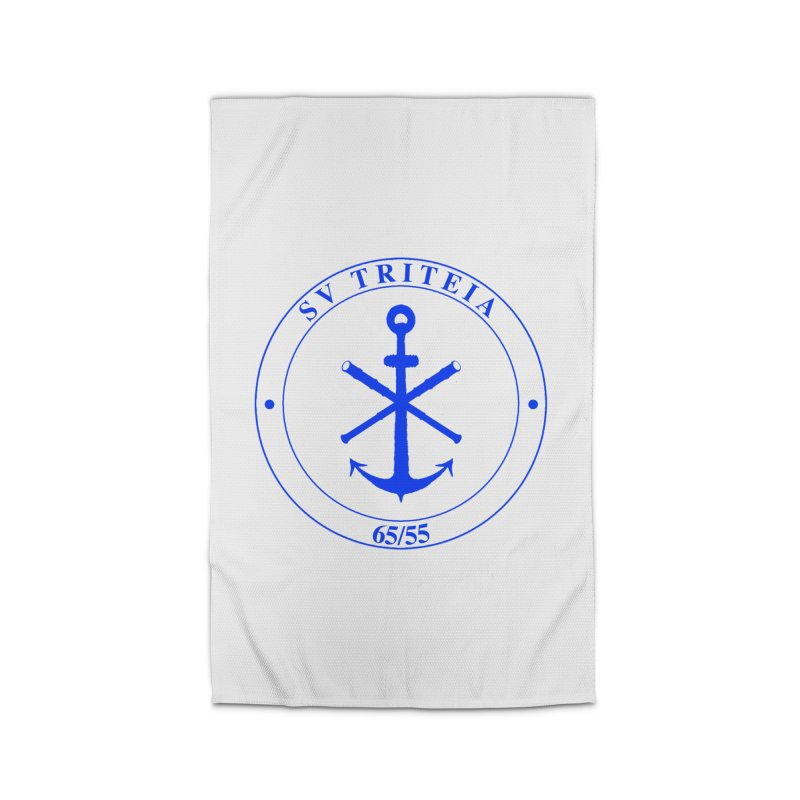 Sailing Vessel Triteia - AWBS logo Home Rug by Sailor James
