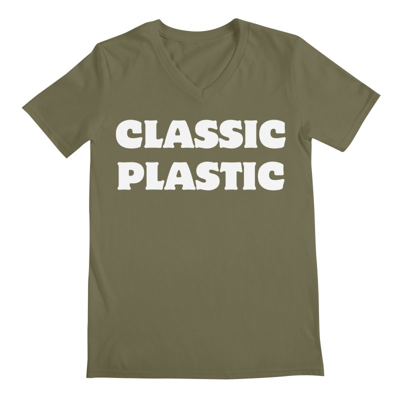 Classic Plastic, for all of us Vintage Boat Lovers Men's V-Neck by Sailor James