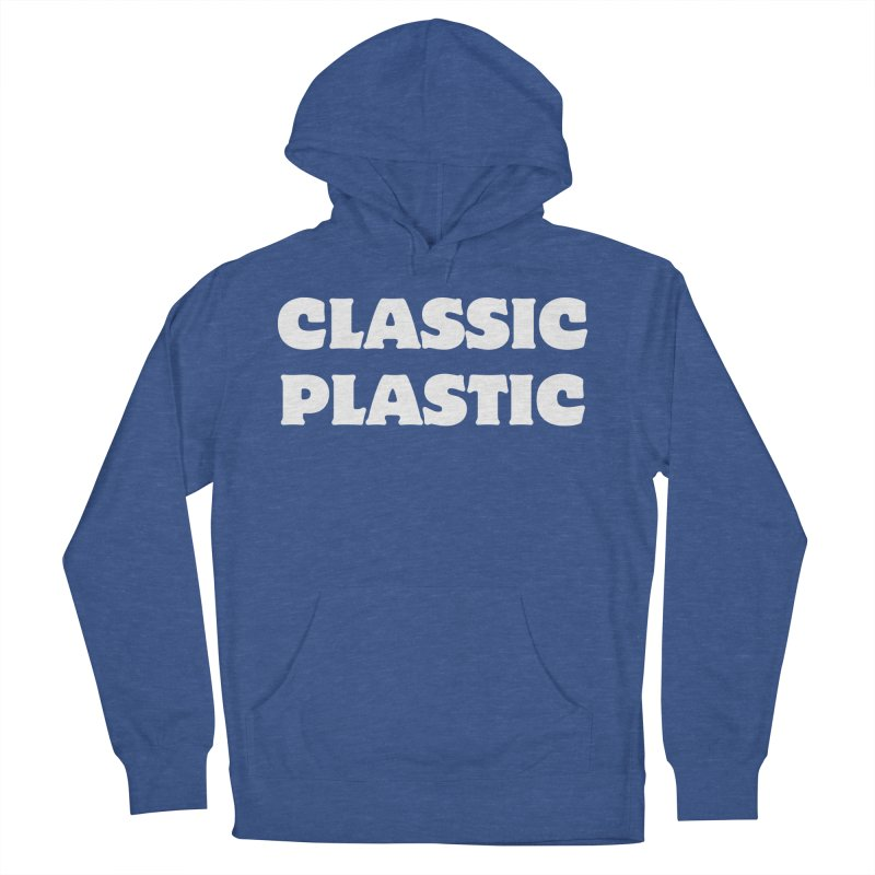 Classic Plastic, for all of us Vintage Boat Lovers Men's French Terry Pullover Hoody by Sailor James