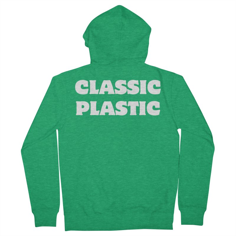 Classic Plastic, for all of us Vintage Boat Lovers Women's French Terry Zip-Up Hoody by Sailor James