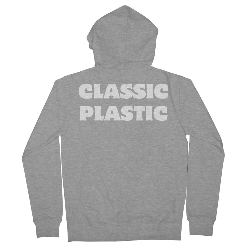 Classic Plastic, for all of us Vintage Boat Lovers Men's French Terry Zip-Up Hoody by Sailor James