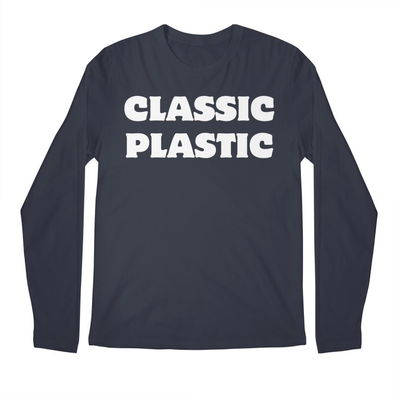 Classic Plastic, for all of us Vintage Boat Lovers Men's Regular Longsleeve T-Shirt by Sailor James