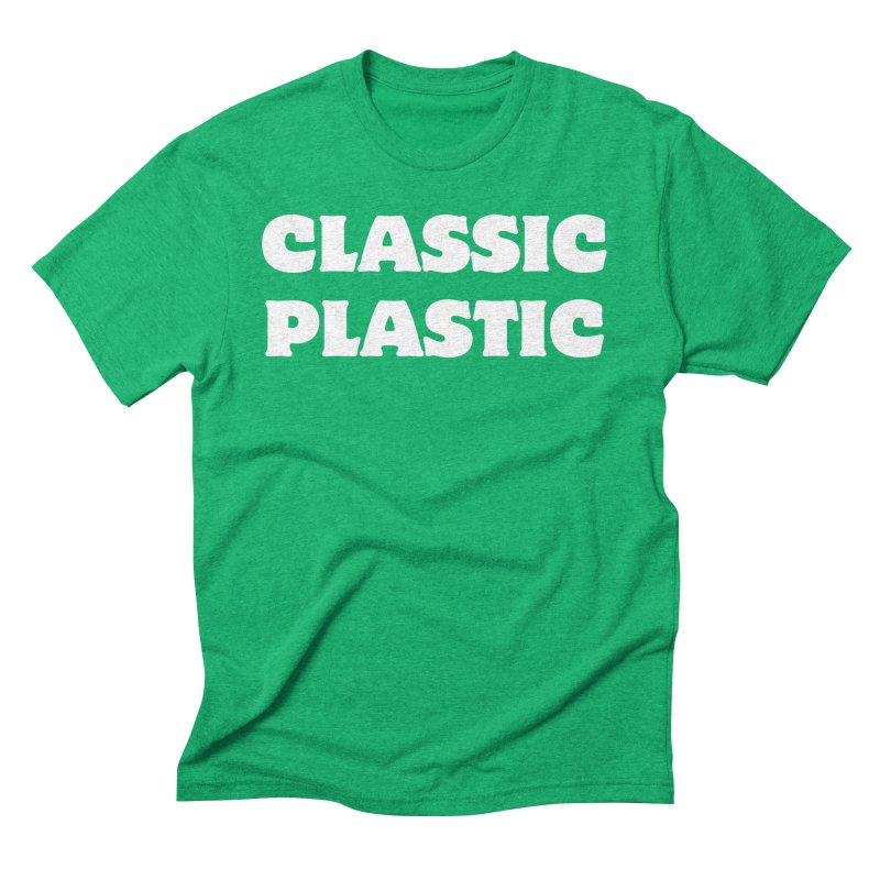 Classic Plastic, for all of us Vintage Boat Lovers Men's Triblend T-Shirt by Sailor James