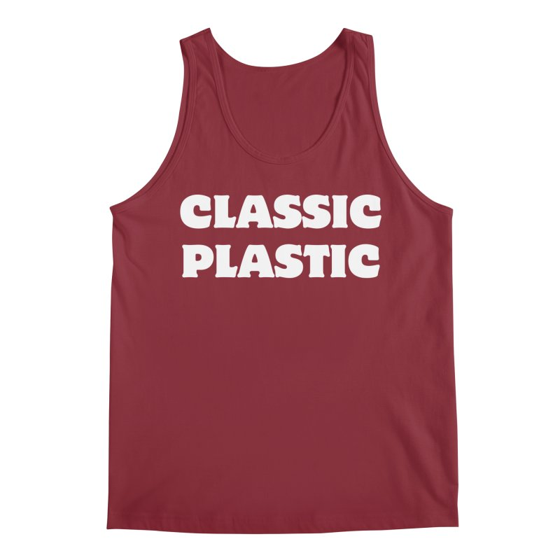 Classic Plastic, for all of us Vintage Boat Lovers Men's Tank by Sailor James