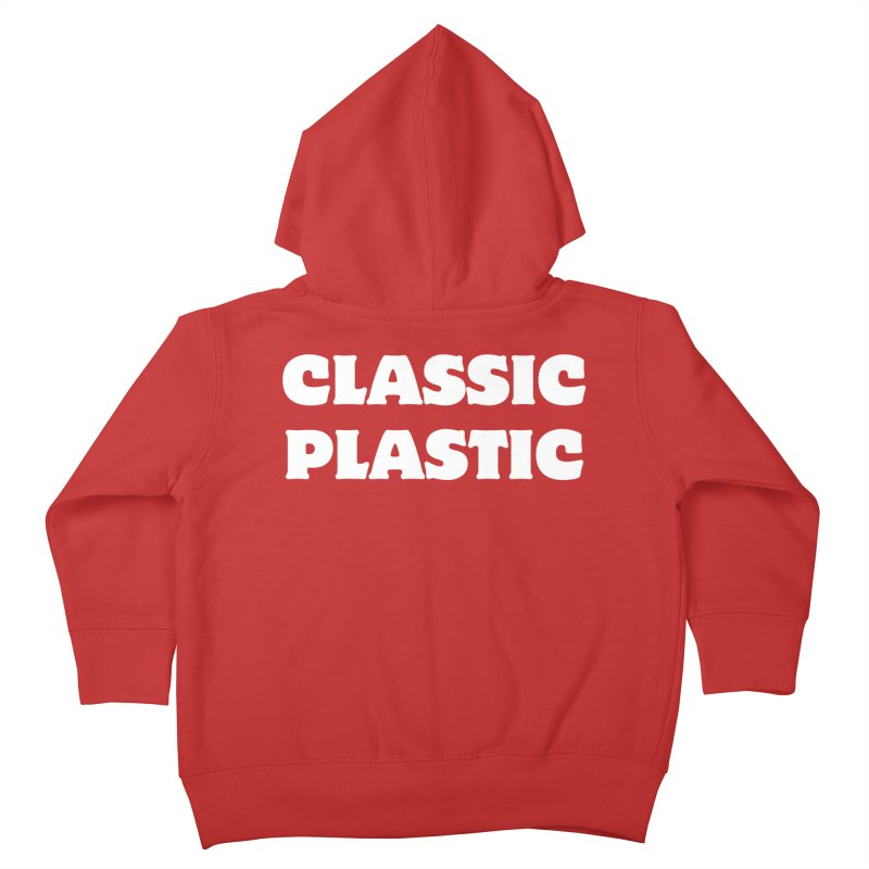 Classic Plastic, for all of us Vintage Boat Lovers Kids Toddler Zip-Up Hoody by Sailor James