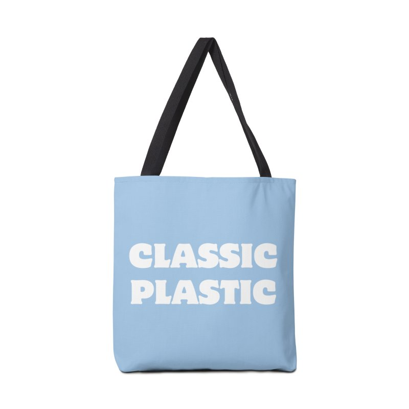 Classic Plastic, for all of us Vintage Boat Lovers Accessories Bag by Sailor James
