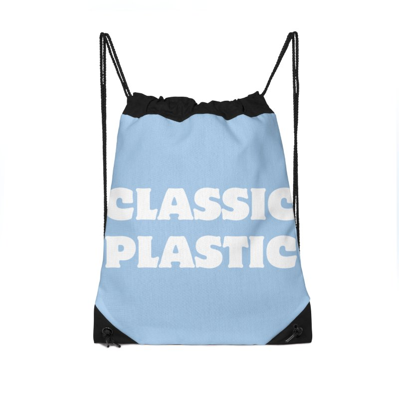 Classic Plastic, for all of us Vintage Boat Lovers Accessories Drawstring Bag Bag by Sailor James