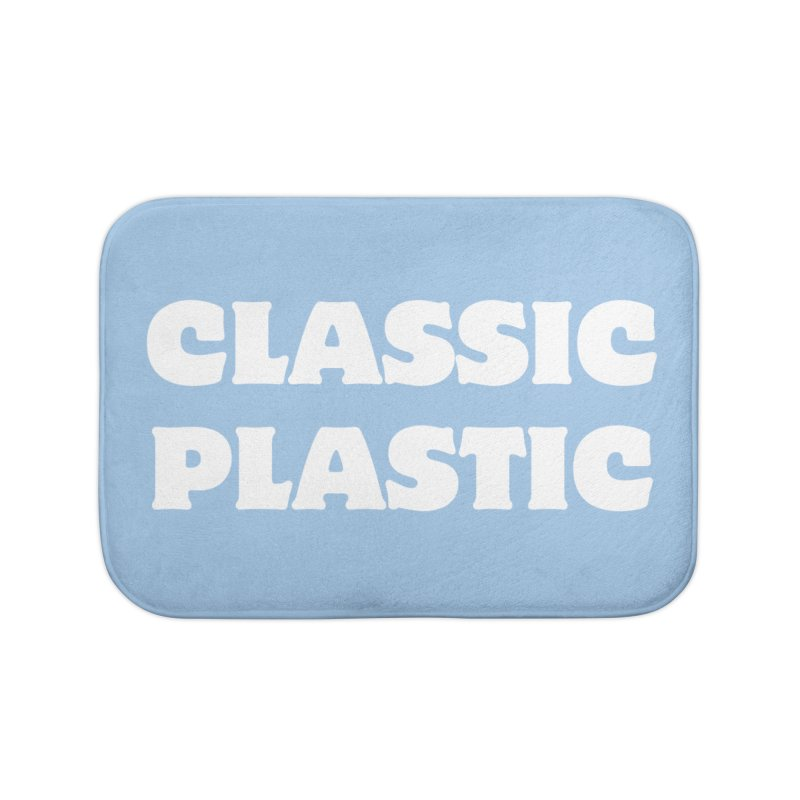 Classic Plastic, for all of us Vintage Boat Lovers Home Bath Mat by Sailor James