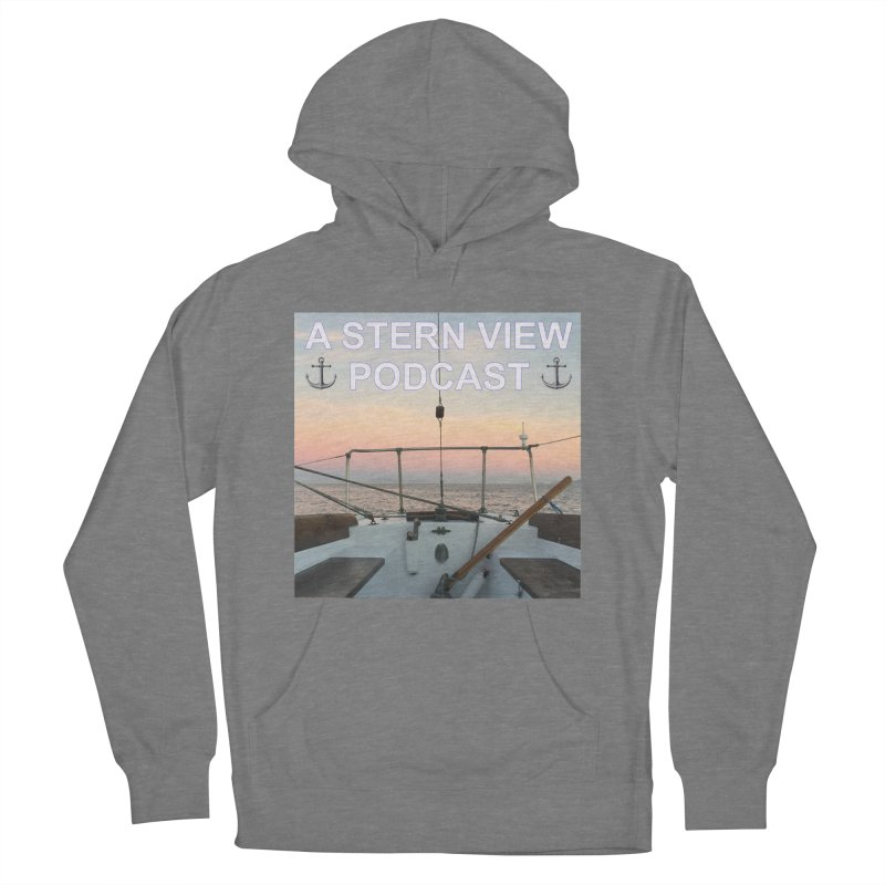 A STERN VIEW PODCAST Women's French Terry Pullover Hoody by Sailor James