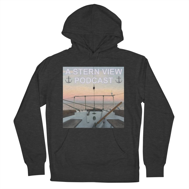 A STERN VIEW PODCAST Men's French Terry Pullover Hoody by Sailor James
