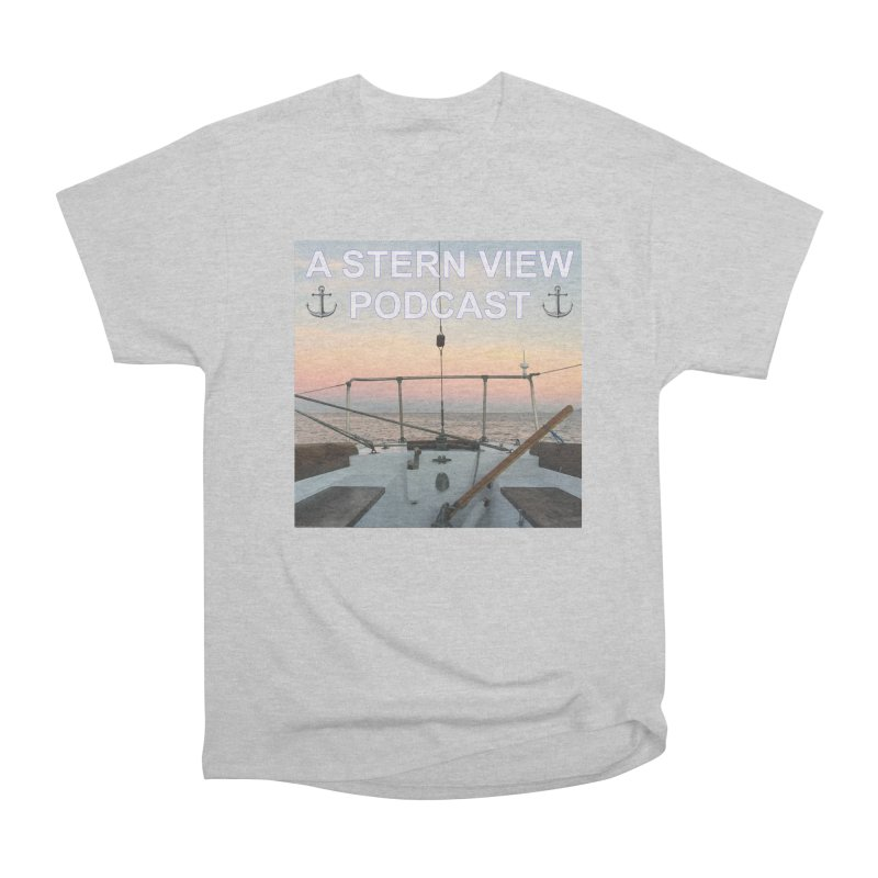 A STERN VIEW PODCAST Men's Heavyweight T-Shirt by Sailor James