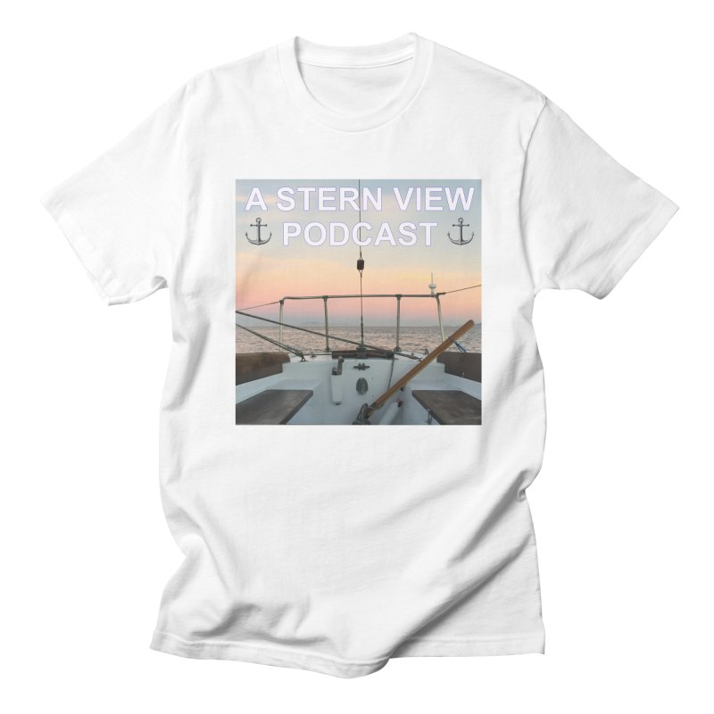 A STERN VIEW PODCAST Men's Regular T-Shirt by Sailor James