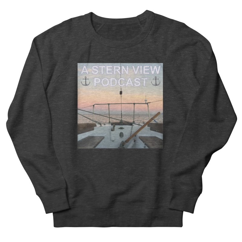 A STERN VIEW PODCAST Men's French Terry Sweatshirt by Sailor James