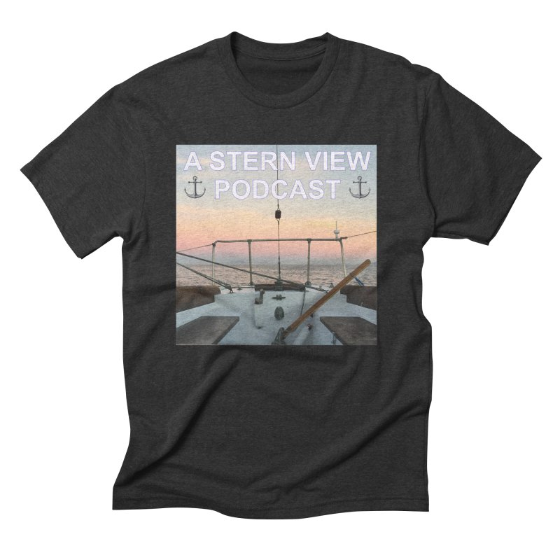A STERN VIEW PODCAST Men's Triblend T-Shirt by Sailor James
