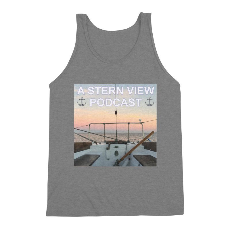 A STERN VIEW PODCAST Men's Triblend Tank by Sailor James