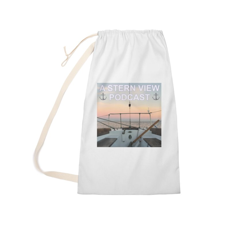 A STERN VIEW PODCAST Accessories Laundry Bag Bag by Sailor James