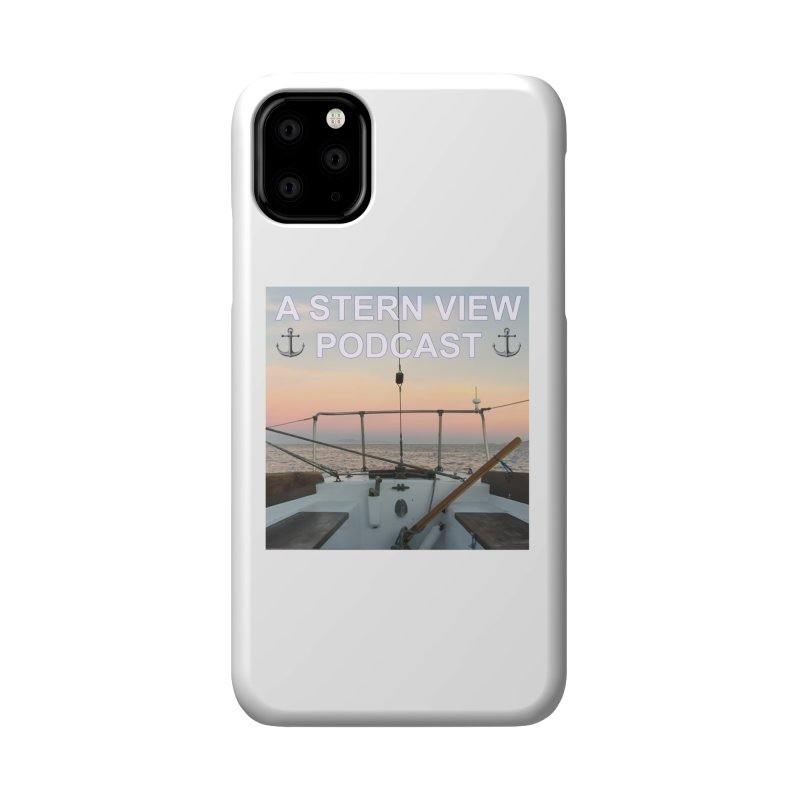 A STERN VIEW PODCAST Accessories Phone Case by Sailor James
