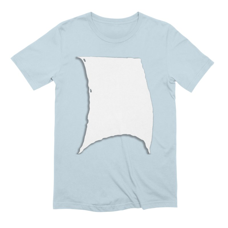 Running Before the Wind in Men's Extra Soft T-Shirt Baby Blue by Sailor James