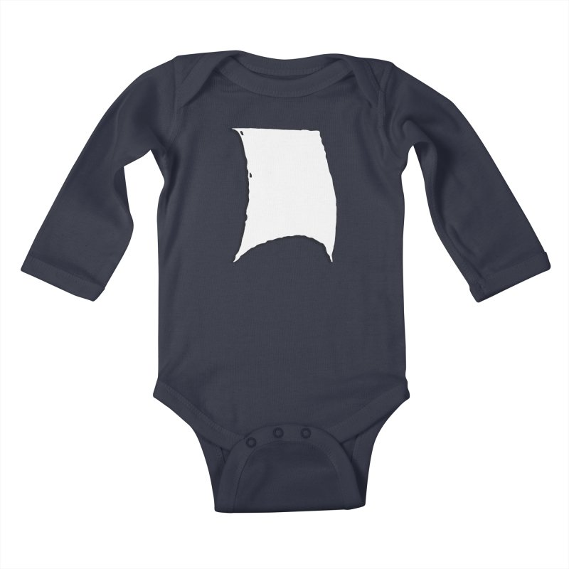 Running Before the Wind Kids Baby Longsleeve Bodysuit by Sailor James