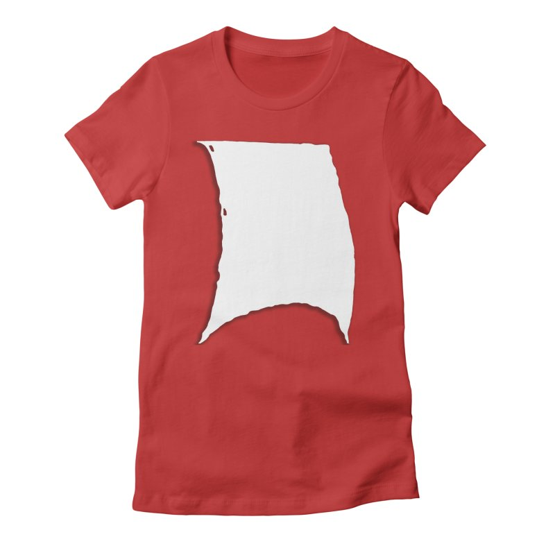 Running Before the Wind Women's Fitted T-Shirt by Sailor James