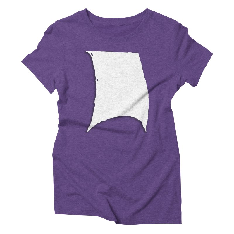 Running Before the Wind Women's Triblend T-Shirt by Sailor James