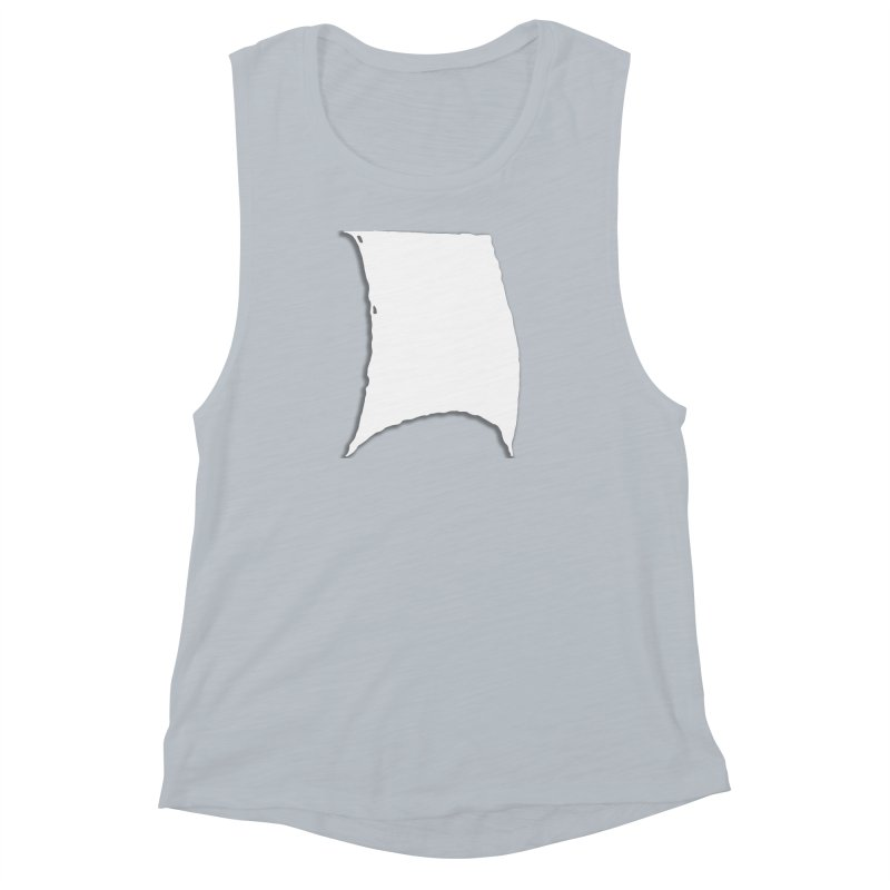 Running Before the Wind Women's Muscle Tank by Sailor James
