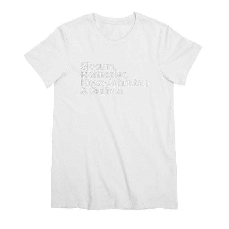 Single-Handers Women's Premium T-Shirt by Sailor James