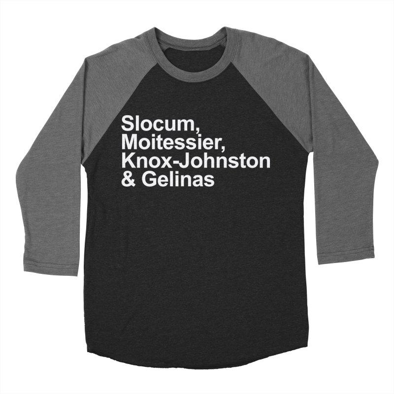 Single-Handers Men's Baseball Triblend Longsleeve T-Shirt by Sailor James