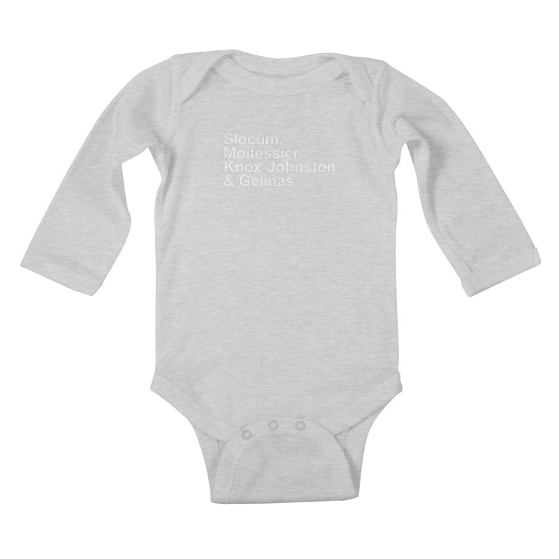 Single-Handers Kids Baby Longsleeve Bodysuit by Sailor James