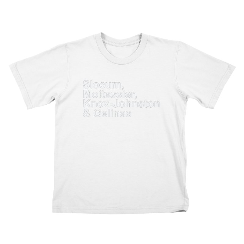 Single-Handers Kids T-Shirt by Sailor James