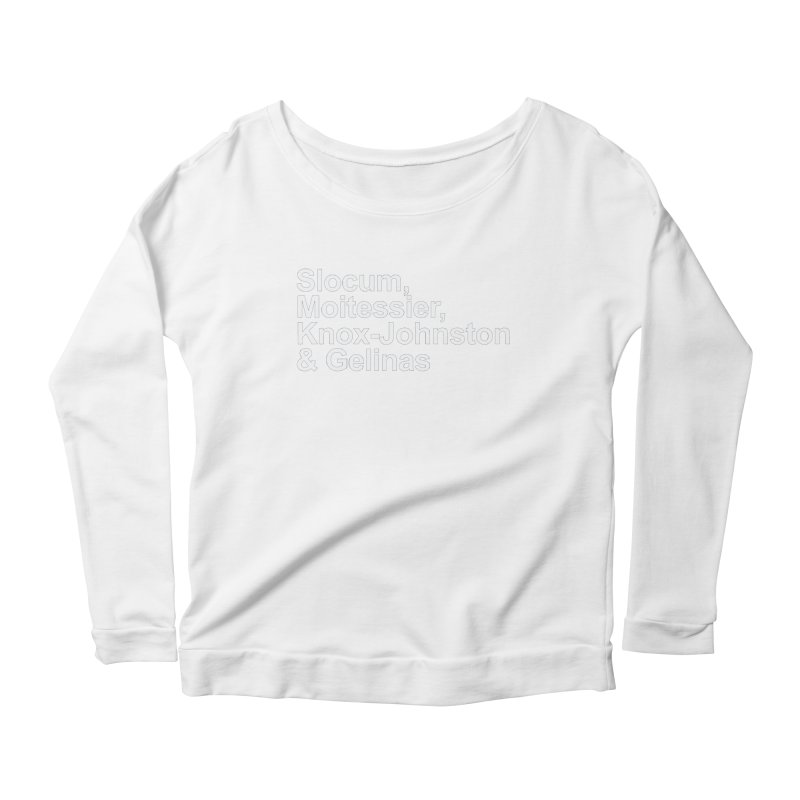 Single-Handers Women's Scoop Neck Longsleeve T-Shirt by Sailor James