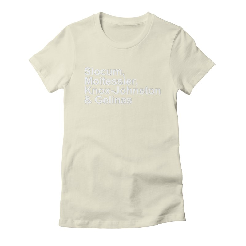 Single-Handers Women's Fitted T-Shirt by Sailor James