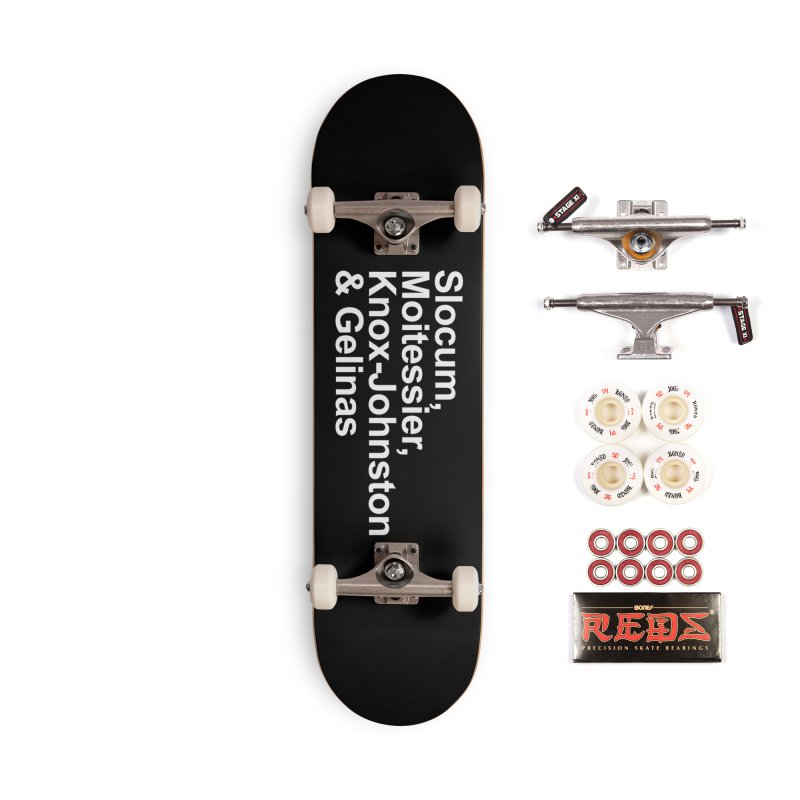 Single-Handers Accessories Complete - Pro Skateboard by Sailor James