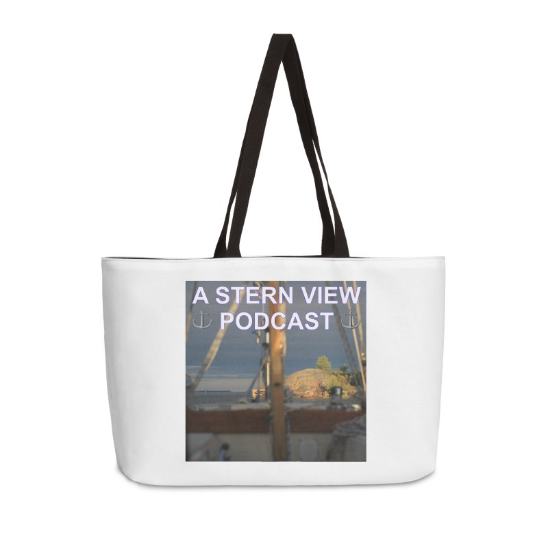 A STERN VIEW PODCAST (Season 2) Accessories Weekender Bag Bag by Sailor James