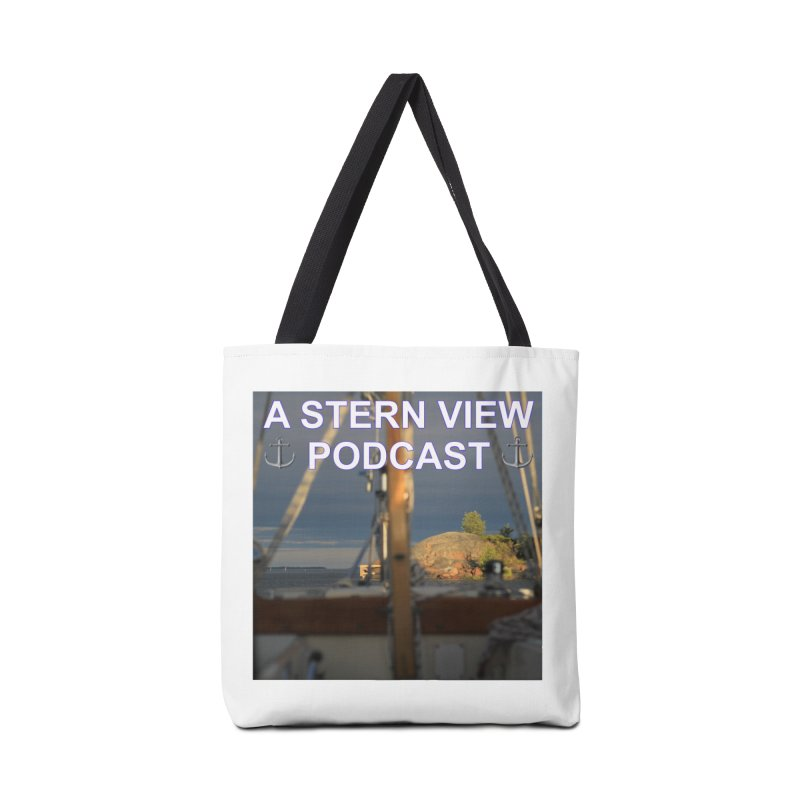 A STERN VIEW PODCAST (Season 2) Accessories Tote Bag Bag by Sailor James