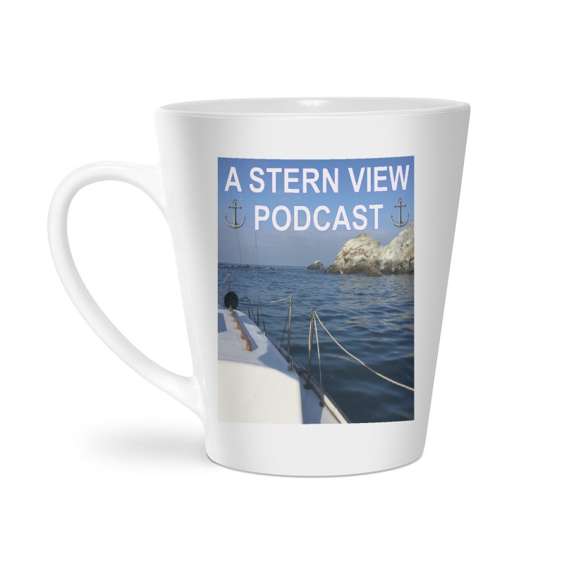 A STERN VIEW PODCAST (Season 3) Accessories Latte Mug by Sailor James