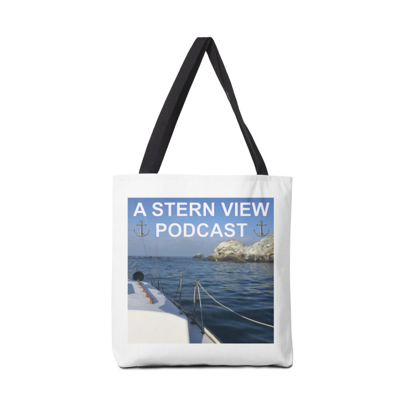 A STERN VIEW PODCAST (Season 3) Accessories Tote Bag Bag by Sailor James