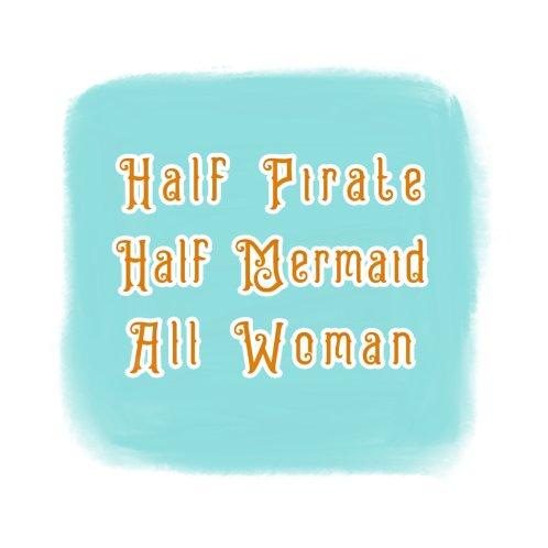 Design for Custom Pirate, Mermaid, Woman