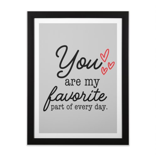 image for You are my favorite part of every day.