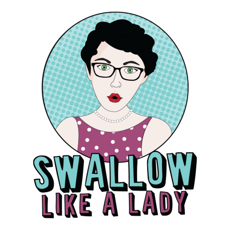 Logo for Swallow Like a Lady