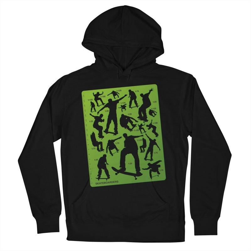 Skateboarders Stencil Men's Pullover Hoody by swarm's Artist Shop
