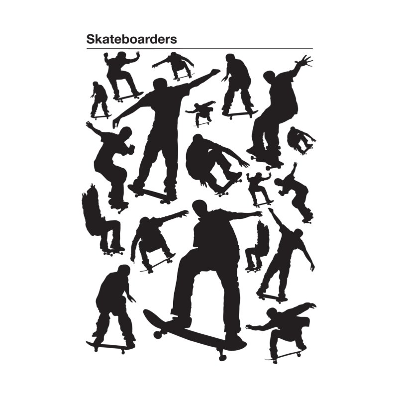 Skateboarders Men's Triblend T-shirt by swarm's Artist Shop